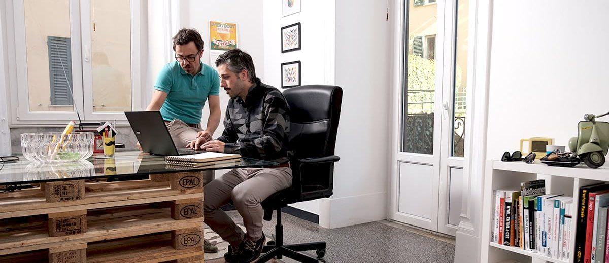 I soci di UNDICI04 - web agency a Genova