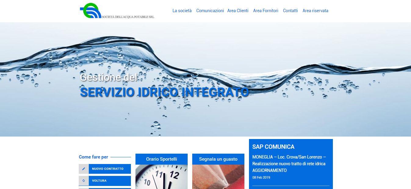 Hompage del sito saponline.it