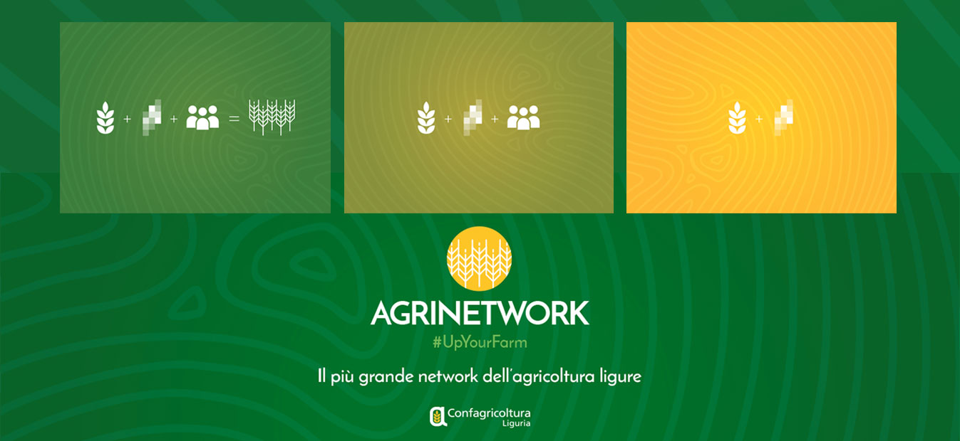 Logo e immagine coordinata per Confagricoltura Liguria